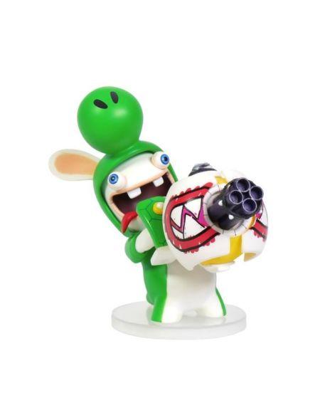 Figurine Mario et Lapins Crétins - Yoshi- 8 cm