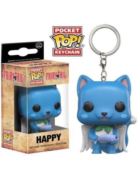 Porte-Clé Pocket Pop! Fairy Tail: Happy