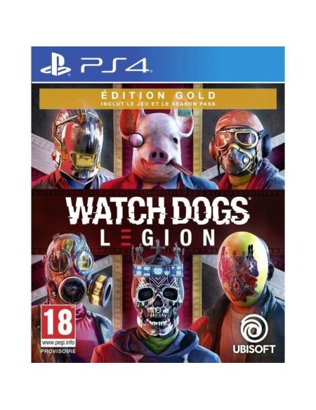 Watch Dogs Legion | Edition Gold PS4
