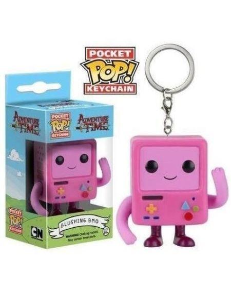 Porte-clé Funko Pocket Pop! Adventure Time : Blushing B-MO