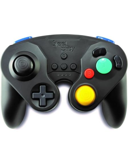 Manette Neo Retro Pad Sans Fil Steelplay Noire pour Switch