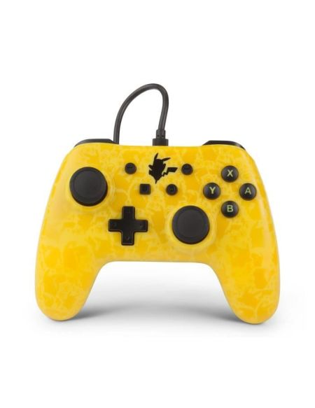POWER A Manette Nintendo Switch Wired controller GC - Pikachu Shadow