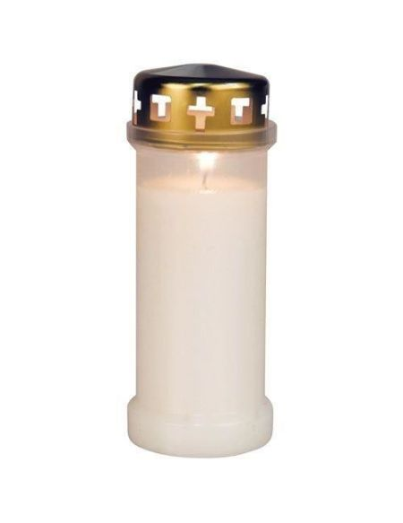 Veilleuse extérieure blanche H: 175 mm