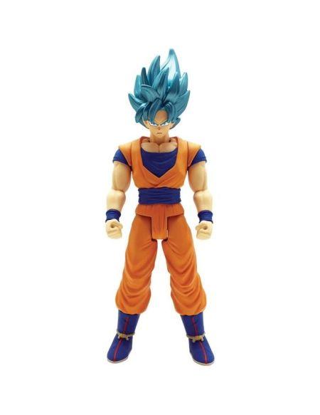 DRAGON BALL SUPER - Figurine Géante Limit Breaker 30 cm - Super Saiyan Goku Blue