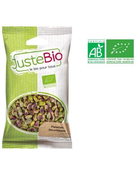 Pistaches décortiquées bio 100g Juste Bio