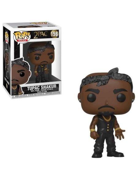 Figurine Funko Pop! Rocks: Tupac - Vest w/Bandana