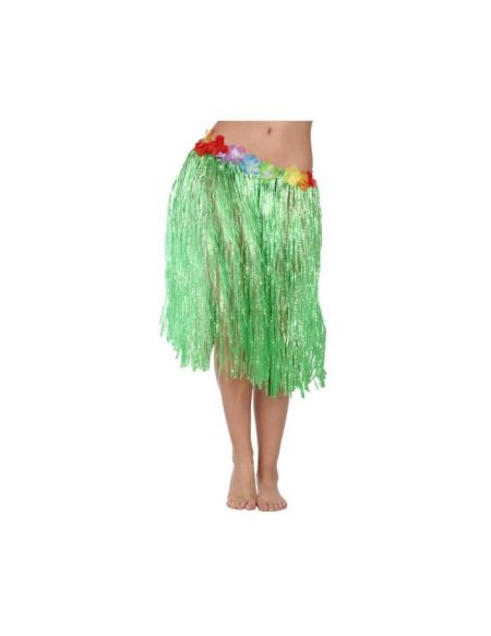 ATOSA Jupe hawaïenne - 41 cm - Verte