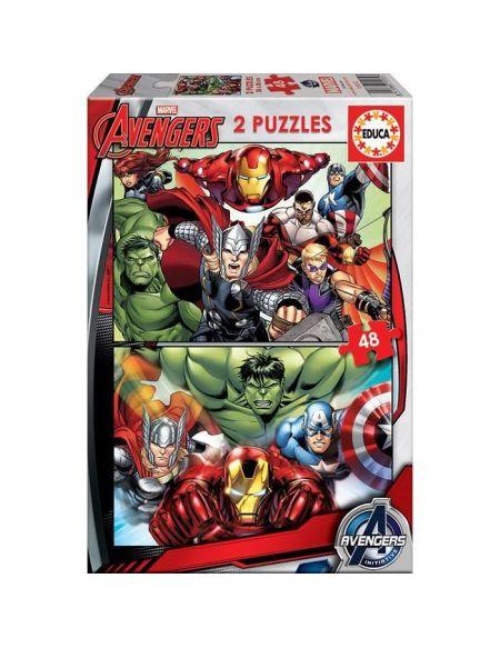 EDUCA - Puzzle - 2X48 AVENGERS