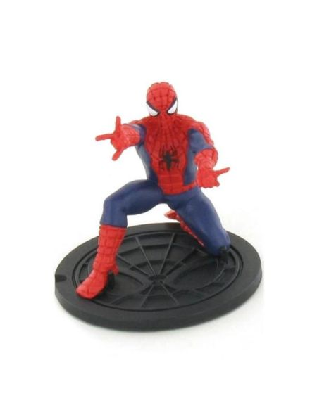 Figurine Spiderman penché - 7 cm - Comansi