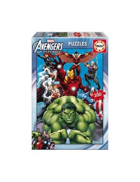 EDUCA - Puzzle Avengers 200 pcs