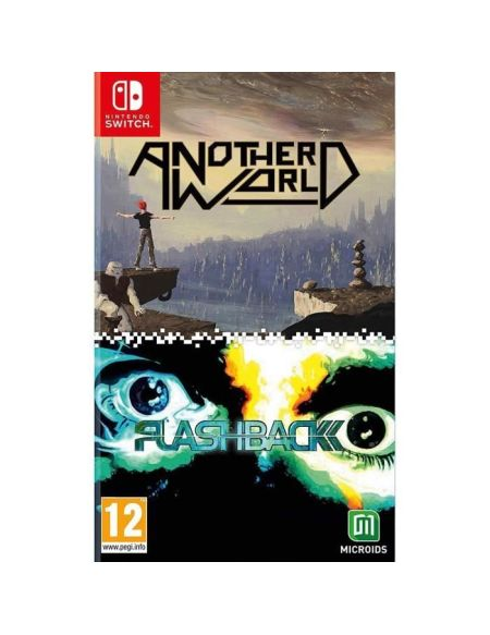 Pack Another World / Flashback Jeux Switch