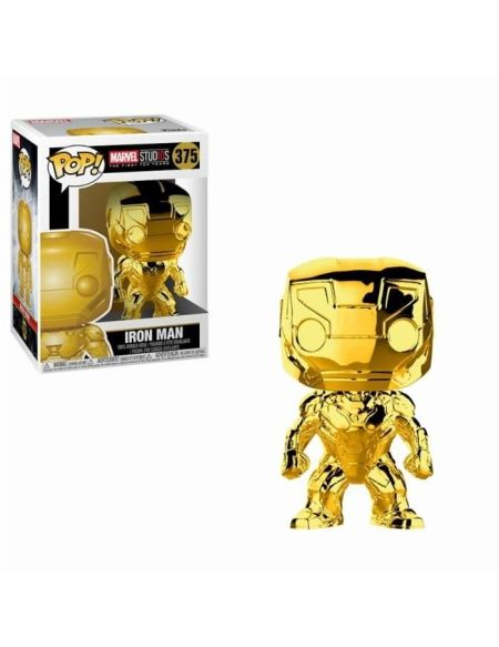 Figurine Funko Pop! Marvel: Iron Man (Chrome)