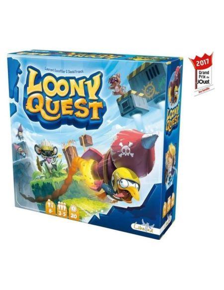 ASMODEE - Loony Quest - Jeu de société - A partir de 8 ans
