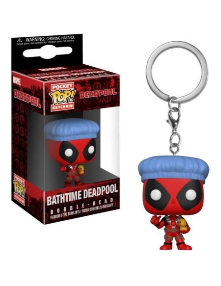 Porte clé Pocket Pop! Deadpool: Bathtime Deadpool