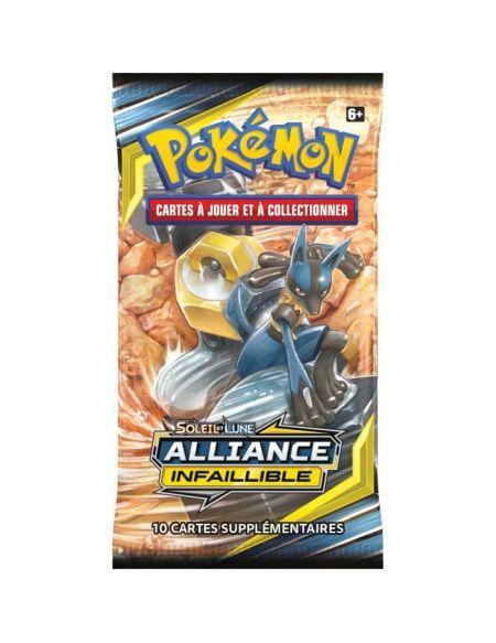 POKEMON Soleil et Lune 10 - Alliance infaillible - Booster SL10 - 10 cartes Pokémon - Modèle aléatoire