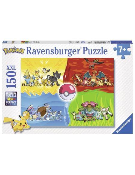 Puzzle 150 p XXL - Les différents types de Pokémon