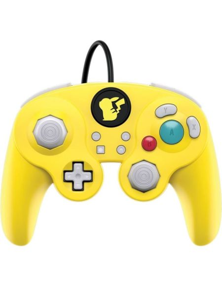 Manette filaire Nintendo Switch Super Smash Bros - Pikachu
