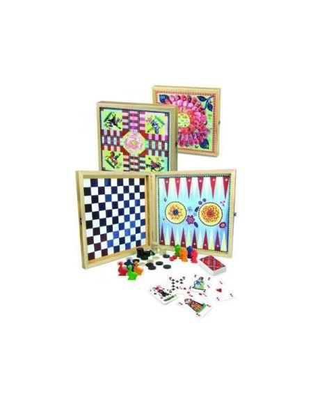 VILAC Ma jolie boite de jeux bucoliques par Nathalie Lété - Jeu de Société - 8635