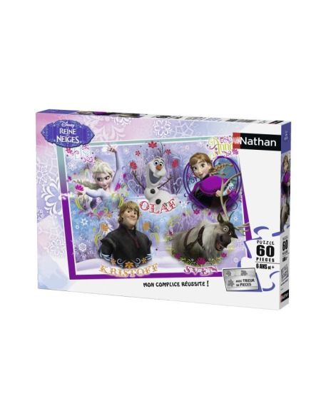 LA REINE DES NEIGES Puzzle Royaume Arendel 60 pcs - Disney
