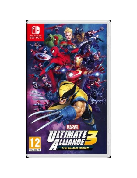 Marvel Utilmate Alliance 3 : The Black Order Jeu Switch