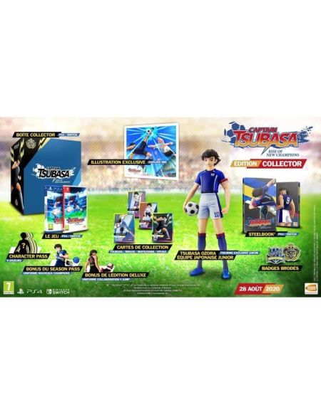 Captain Tsubasa: Rise Of New Champions Edition Collector
