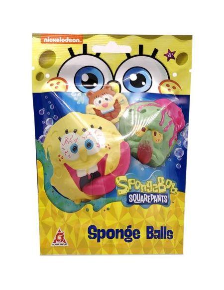 BOB L'EPONGE Balles - Assortiment de 6 personnages