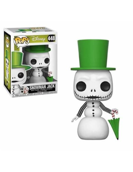 Figurine Funko Pop! Disney : L'Étrange Noël de M. Jack - Jack (Bonhomme de neige)