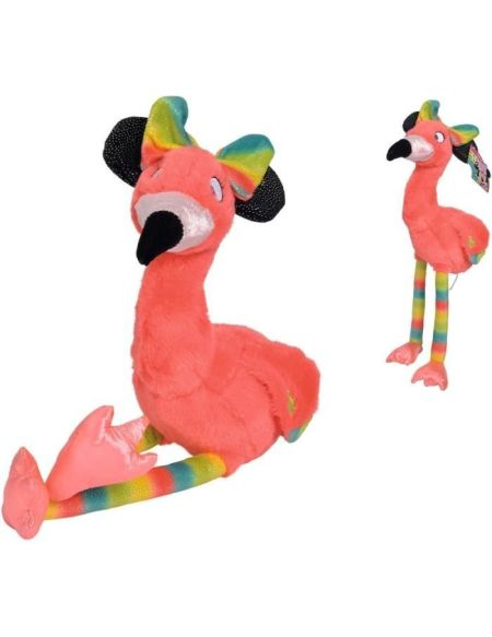 DISNEY MINNIE Peluche Flamingo - 25 cm
