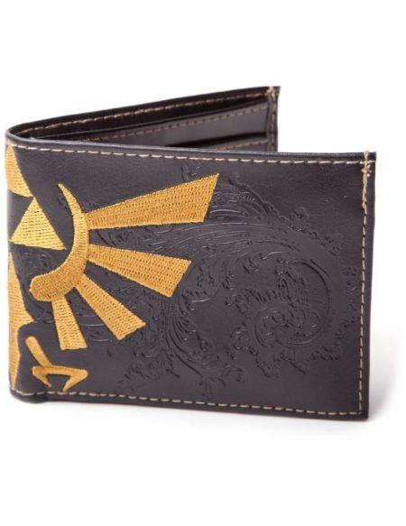 Portefeuille pliable Zelda: Blason d'Hyrule