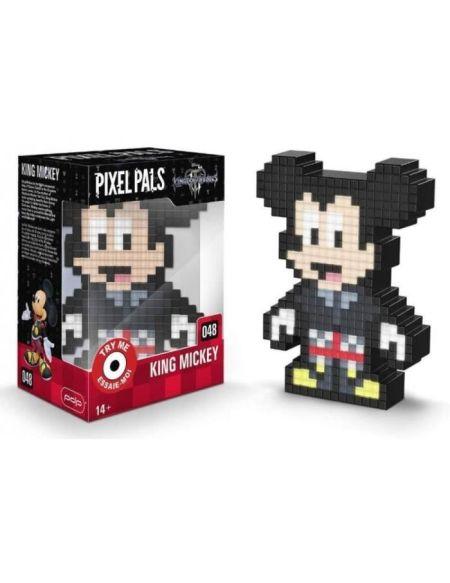 Pixel Pals - Figurine King Mickey - Kingdom Hearts
