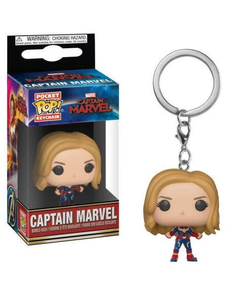 Porte-clés Funko Pocket Pop! Captain Marvel