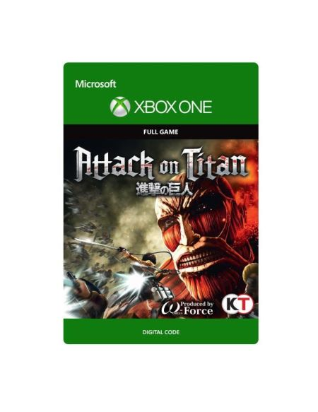 Attack on Titan Jeu Xbox One à télécharger