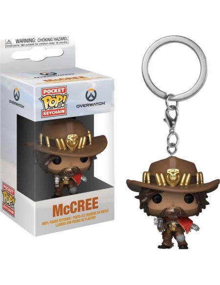 Porte-cles Funko Pop! - Overwatch - Mccree