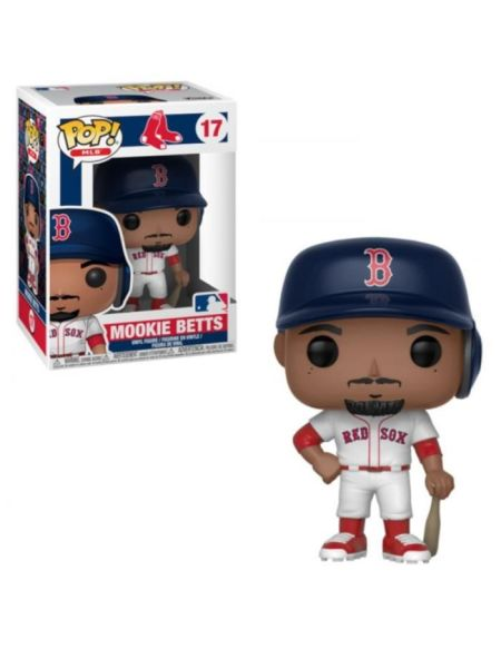 Figurine Funko Pop! N°17 - Major League Baseball Saison 3 - Mookie Betts