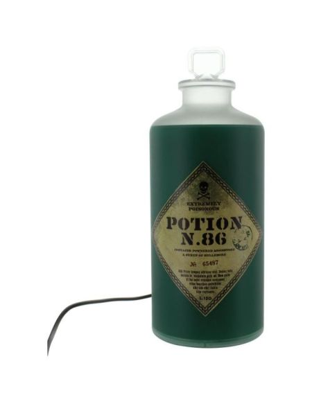 Lampe fiole Harry Potter : Potion N.86 - PALADONE