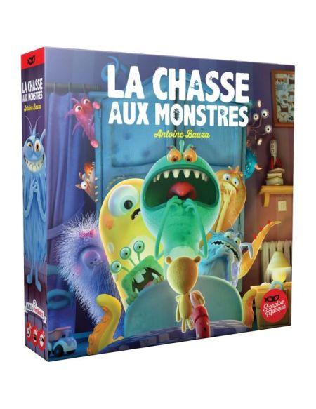 La Chasse aux Monstres - Jeu de société coopératif et de mémoire - Scorpion masqué - ASMODEE