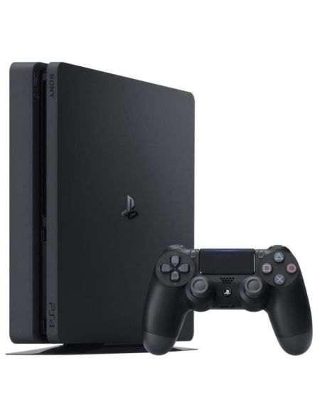 Console PS4 Slim 500Go Noire/Jet Black - Châssis F - Reconditionnée - PlayStation Officiel