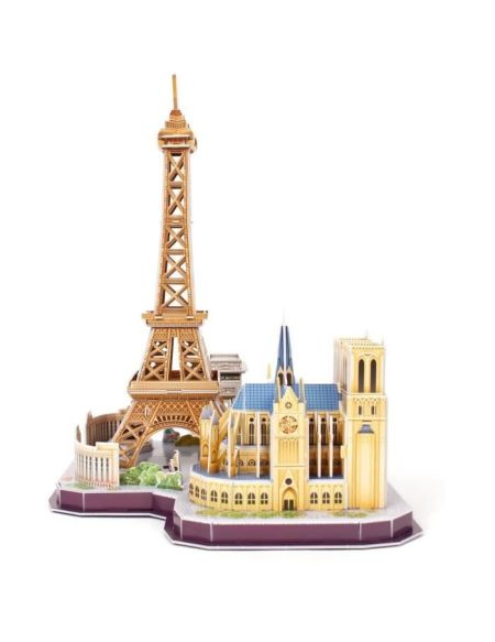 REVELL Puzzle 3D City Line Paris 00141