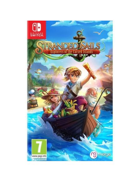 Stranded Sails Explorers of the Cursed Islands Jeu Switch