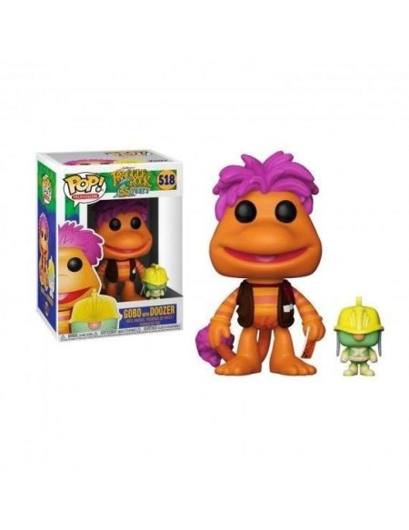 Figurine Toy Pop N°518 - Fraggle Rock - Gobo avec Doozer
