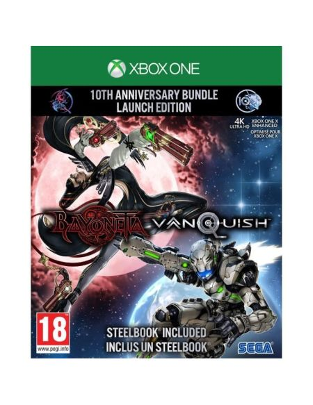 Bayonetta & Vanquish 10th anniversary : Bundle Launch Edition - Jeu Xbox One