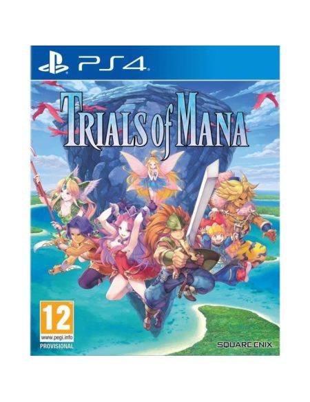 Trials Of Mana Jeu PS4