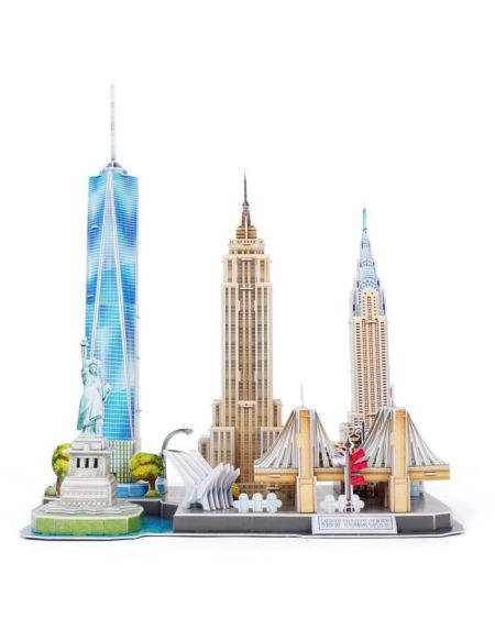 REVELL Puzzle 3D City Line New York City 00142