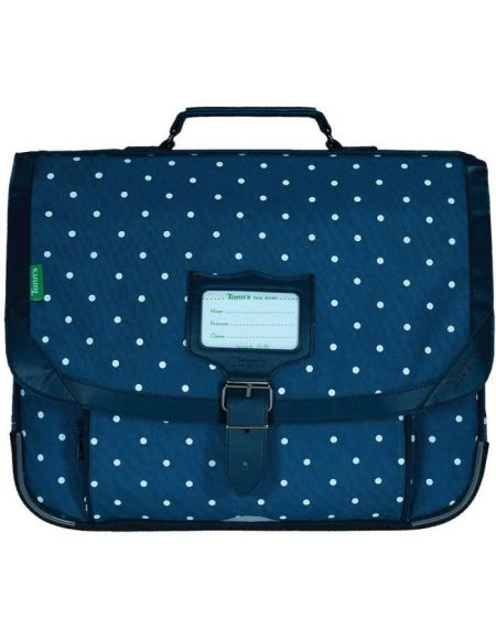 TANN'S Cartable 38 cm Les Fantaisies Angèle Denim Bleu