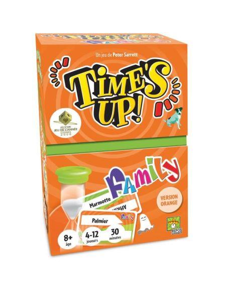 TIME'S UP Family - Version Orange - Jeu de Société Famille - Asmodee