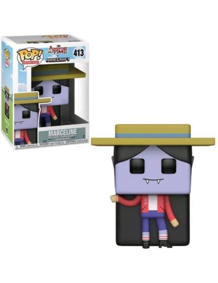 Figurine Funko Pop! Adventure Time Minecraft - Marceline