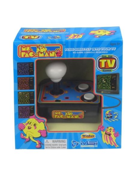 MS. PACMAN TV ARCADE Plug & Play