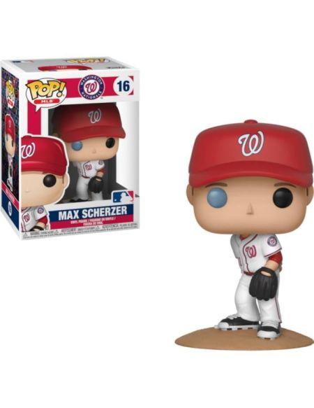 Figurine Funko Pop! MLB - Baseball: Max Scherzer