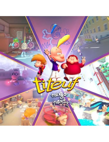 Titeuf Mega Party Jeu Switch
