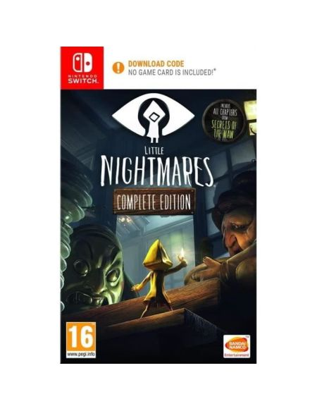 Little Nightmares Complete Edition Jeu Nintendo Switch - Code in a box